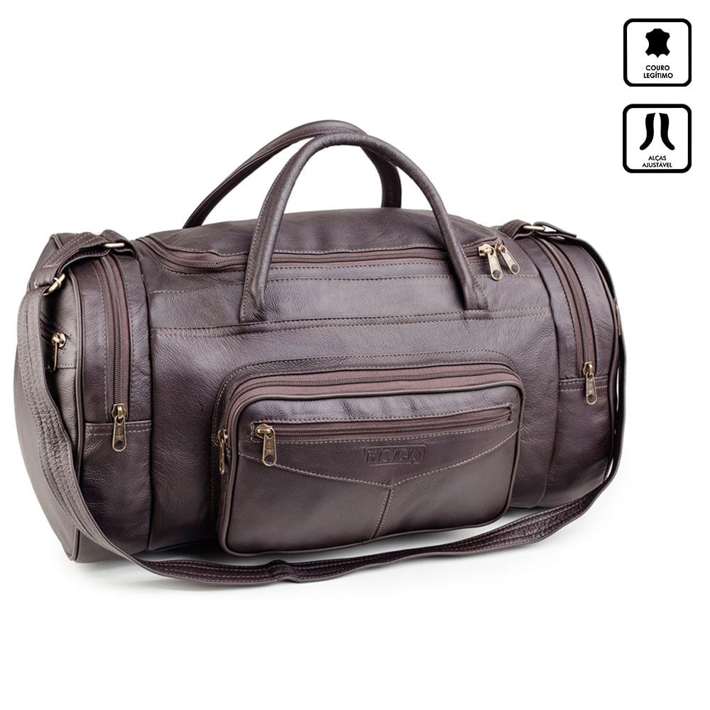 c699f0bd1 Bolsa de Viagem de Couro Abufalado | Bagaggio - lojabagaggio - Mobile