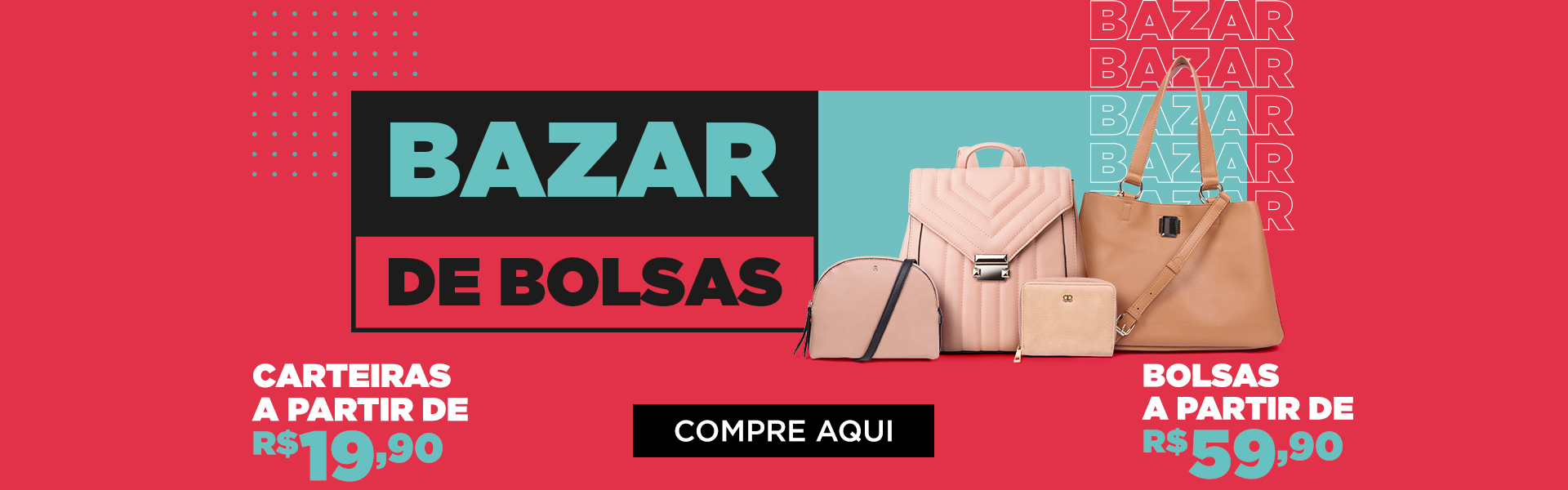 Banner Bazar de Bolsas