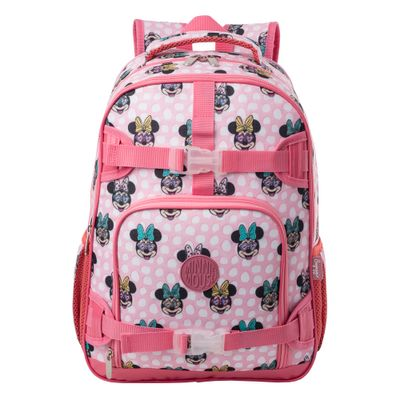 MOCHILA-MINNIE-MOUSE-FUN-20J--MELANCIA-U--------------------7721