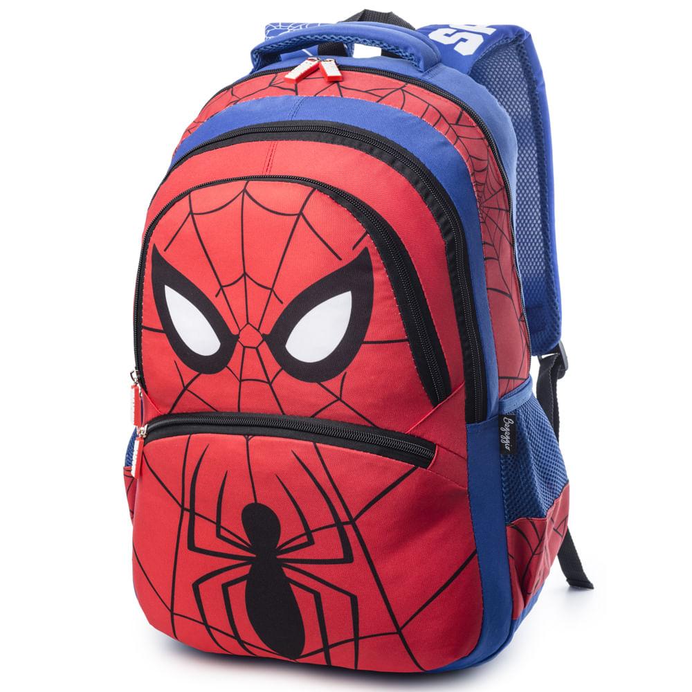 MOCHILA-BASIC--SPIDER-MAN-20J--VERMELHO-U-------------------6511