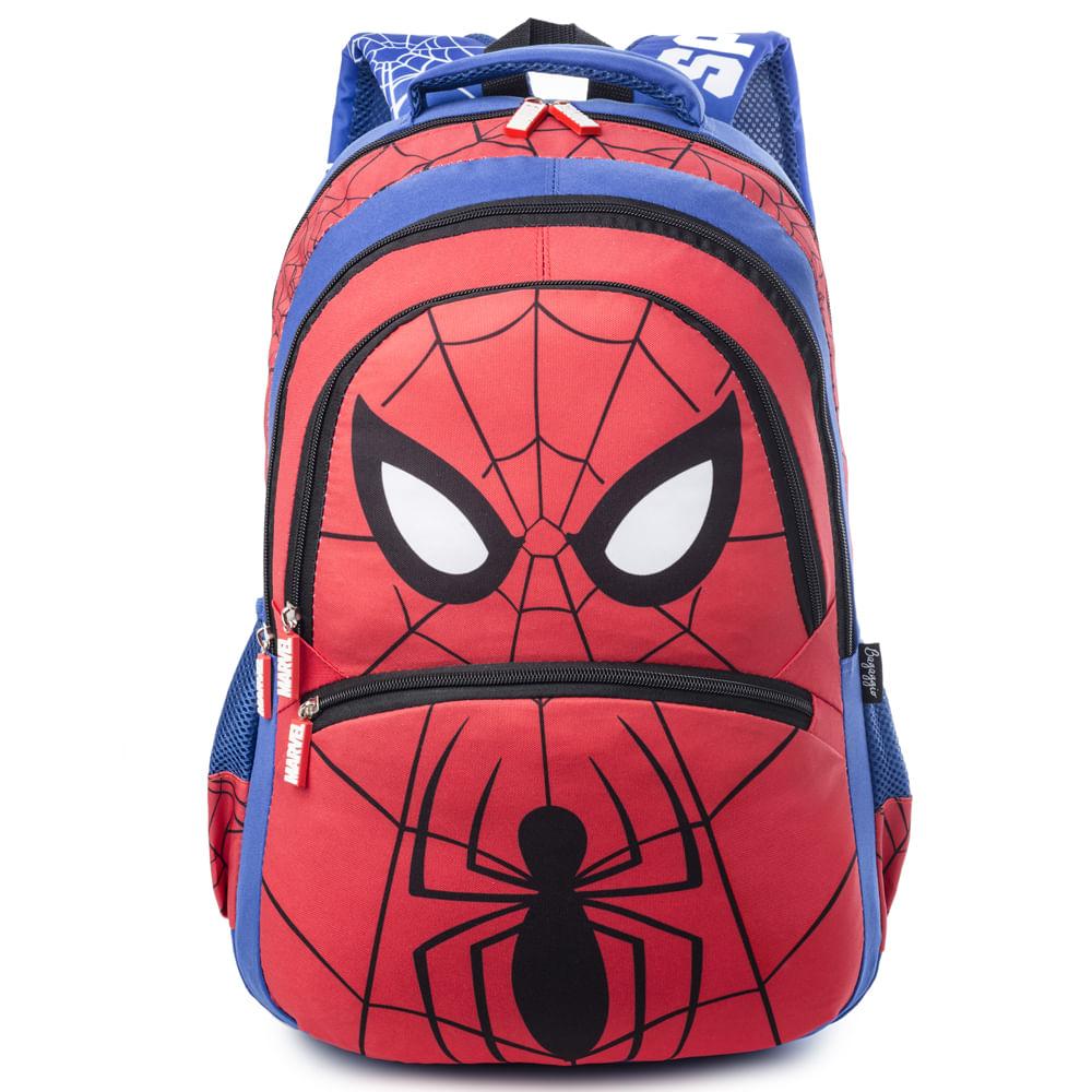 MOCHILA-BASIC--SPIDER-MAN-20J--VERMELHO-U-------------------6512