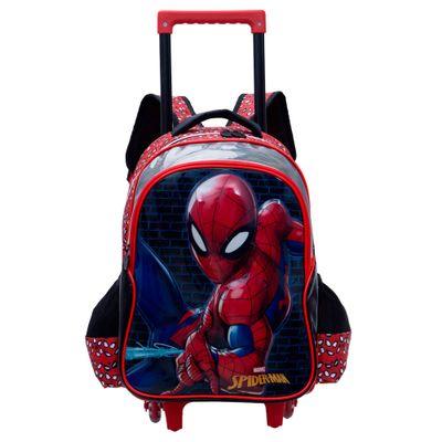 MOCHILETE-PREM-SPIDER-MAN-20P--VERMELHO-U-------------------6511