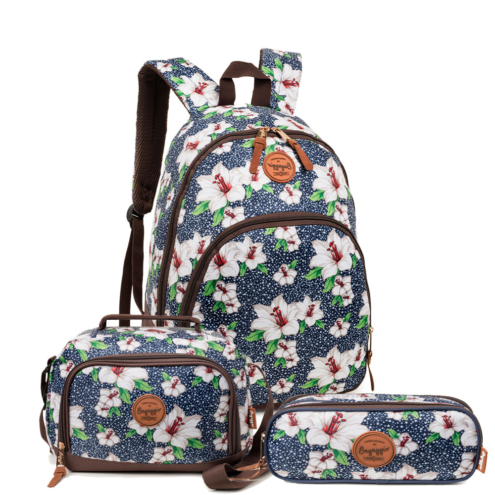 Kit-floral-camelia-mochila-marinho